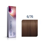 Illumina Color 6/76 Dark Brown Violet Blonde Permanent Hair Color