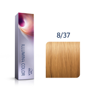 Illumina Color 8/37 Light Blonde Gold Brown Permanent Hair Color