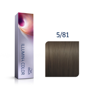 Illumina Color 5/81 Light Pearl Ash Brown Permanent Hair Color