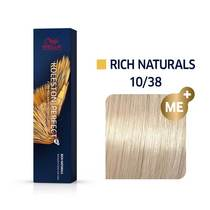 Koleston Perfect 10/38 Lightest Blonde/Gold pearl Permanent