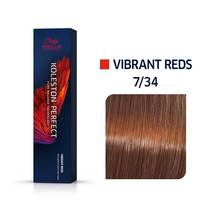 Koleston Perfect 7/34 Medium Blonde/Gold Red Permanent