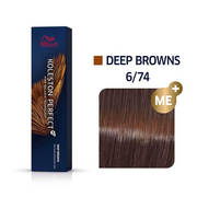 Koleston Perfect 6/74 ME+ Dark Blonde/Brown Red Permanent