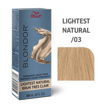 Blondor Permanent Liquid Hair Toner /03 Lightest Natural