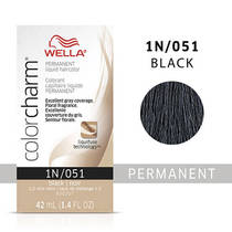 Color Charm Liquid 1N Black