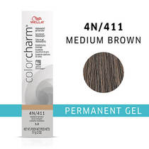 Color Charm Permanent Gel 4N Medium Brown