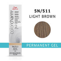 Color Charm Permanent Gel 5N Light Brown