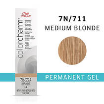 Color Charm Permanent Gel 7N Medium Blonde