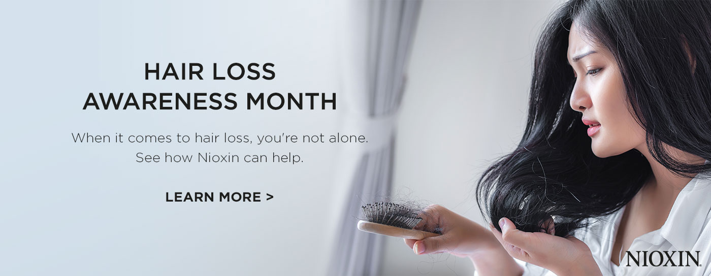 Cons - Hair Loss Awareness Month