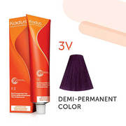 3V Dark Brunette Violet Demi-Permanent
