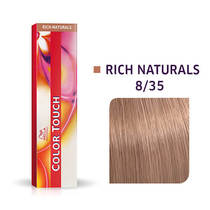 Color Touch 8/35  Light blonde/Gold mahogany Demi-Permanent