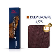 Koleston Perfect 4/75 Medium Brown/Brown Red-Violet Permanent